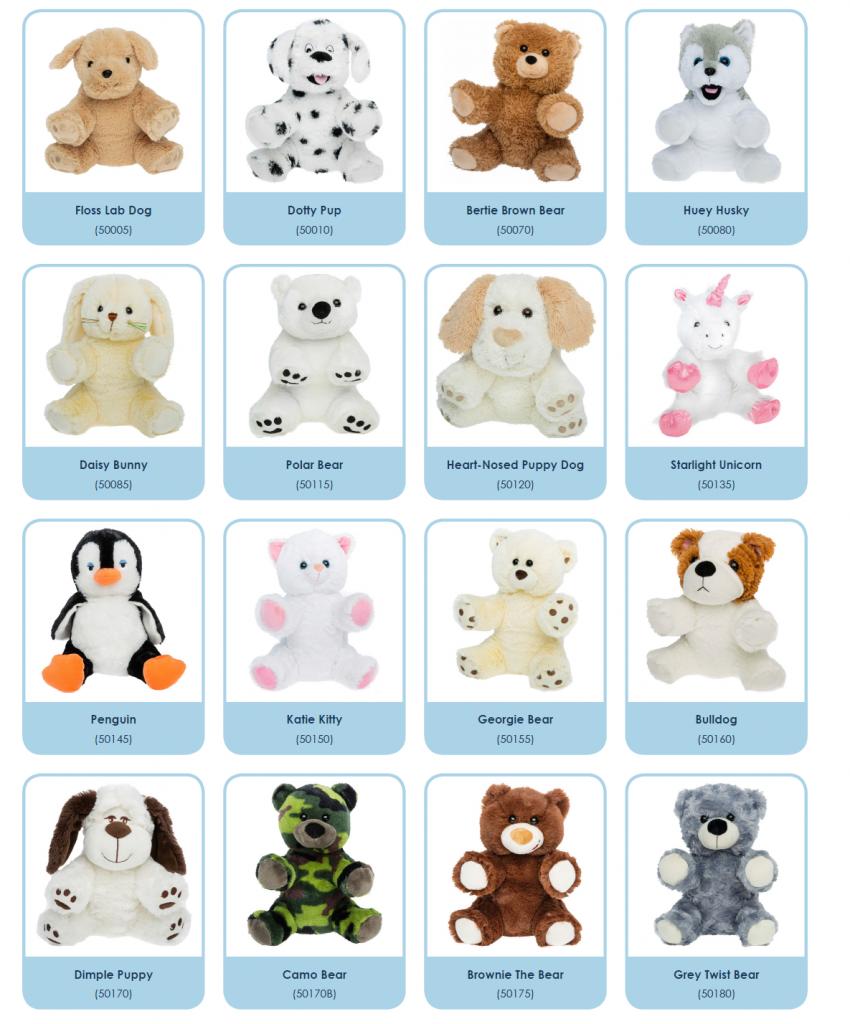 Build a Bear Kits